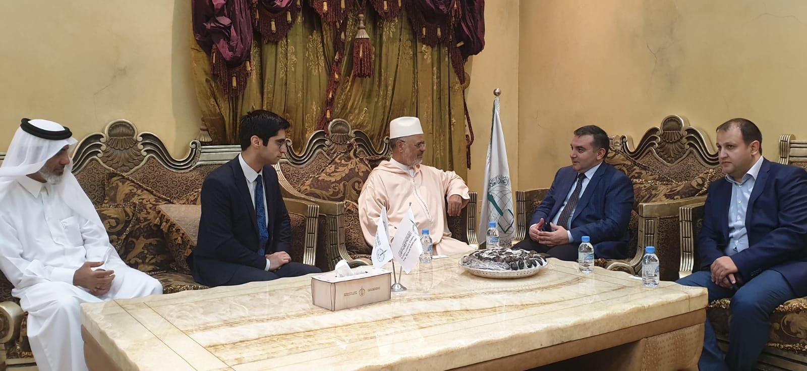 رئيس الاتحاد يستقبل سفير جمهورية أذربيجان في قطر