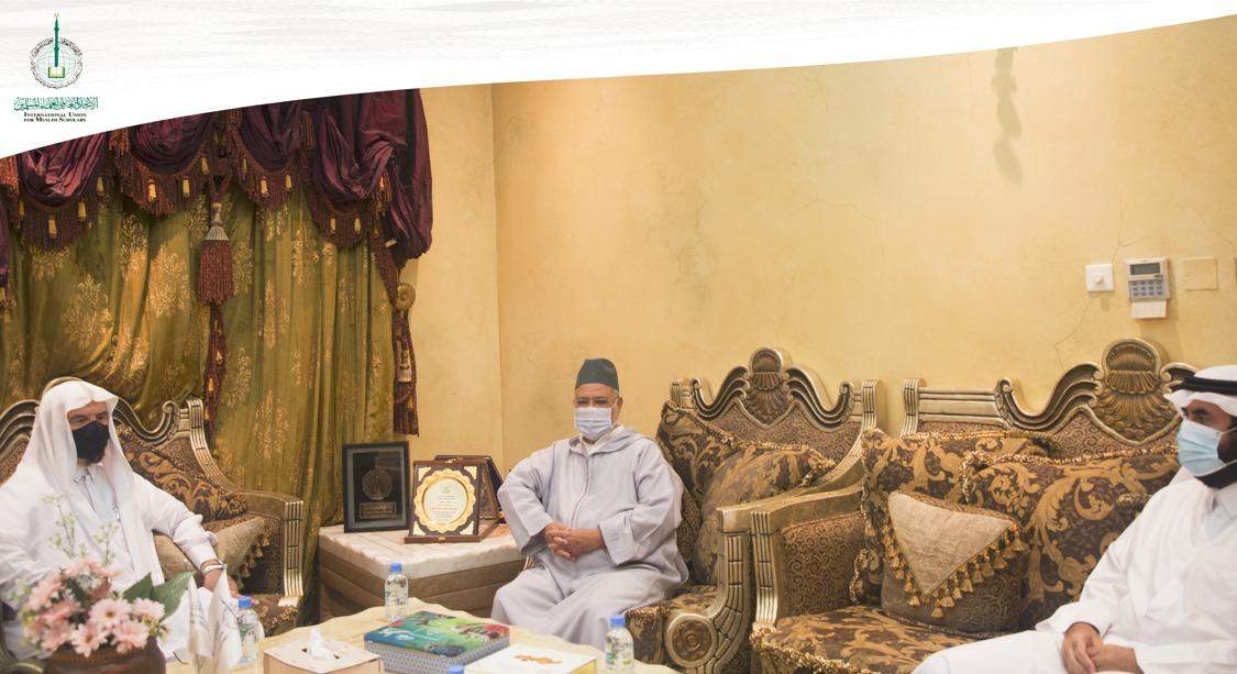 ریسونی و قره داغی با مدیر شعبهی اتحادیه در قطر و رئیس دانشگاه اسلامی کیرالا جداگانه دیدار کردند
