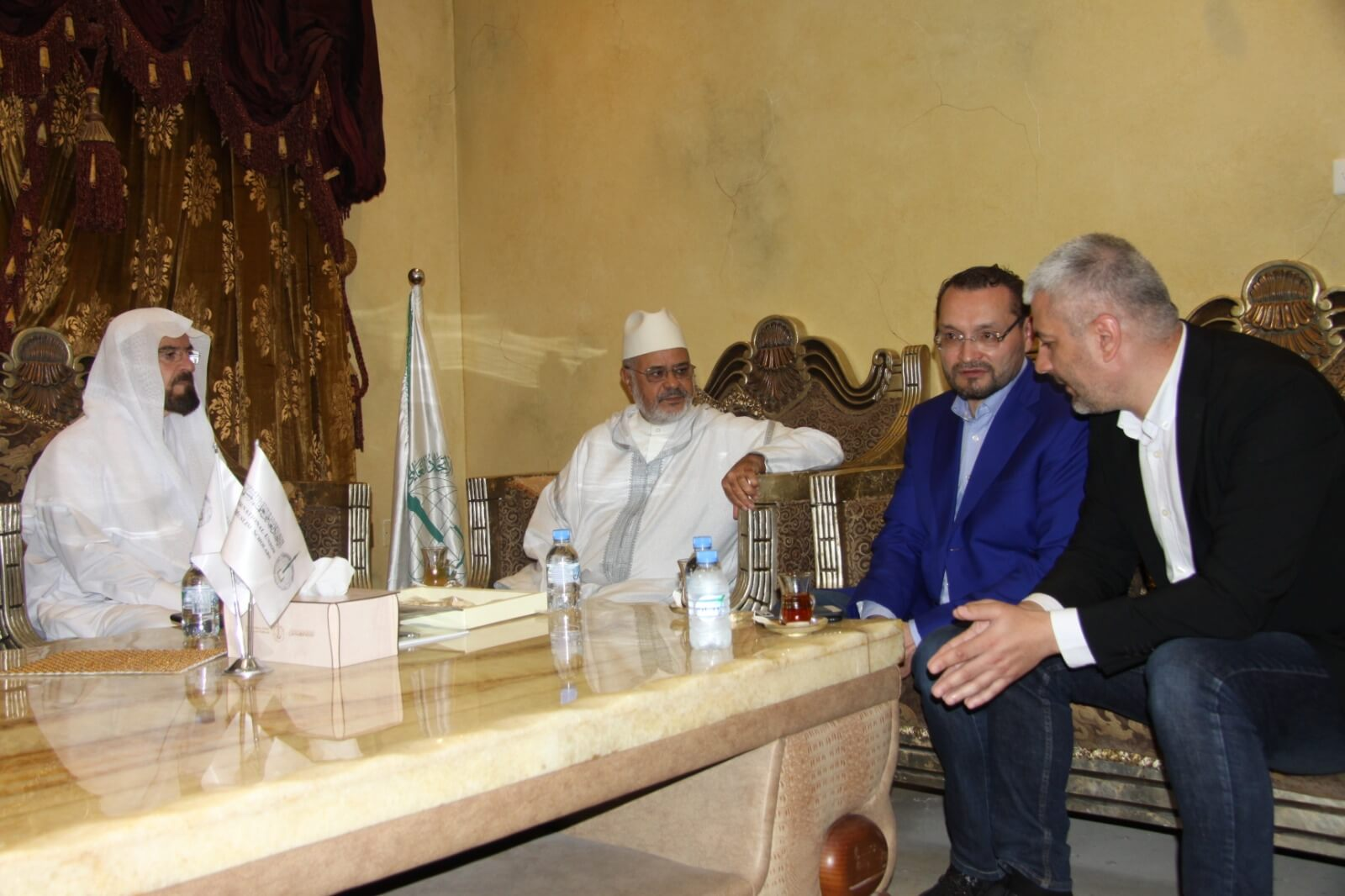 الرئيس والأمين العام يستقبلان وفدا من المنتدى الإسلامي الأوربي
