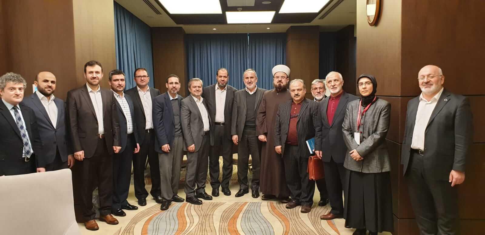 فضيلة الشيخ الدكتورعلي القره داغي الأمين العام للاتحاد يشارك في الندوة العلمية الأولى التي أقامتها رئاسة الشؤون الدينية بتركيا