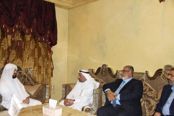 دکتر قره داغی با شیخ مثنی الضاری دبیرکل هیأت علمای مسلمان عراق دیدار کرد