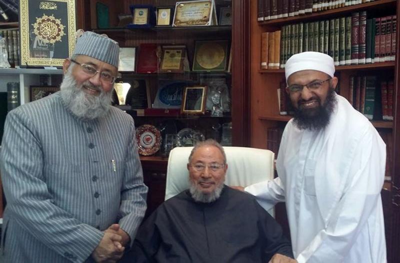 تحادیه تبلیغات بیاساس شبکههای العربیه و الحدث دربارهی شیخ قرضاوی را محکوم کرد