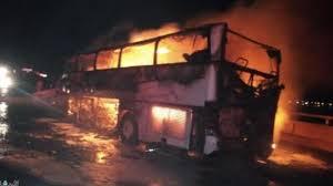 وفاة 35 معتمرا جراء حادث مروري لحافلة نقل بالمدينة المنورة
