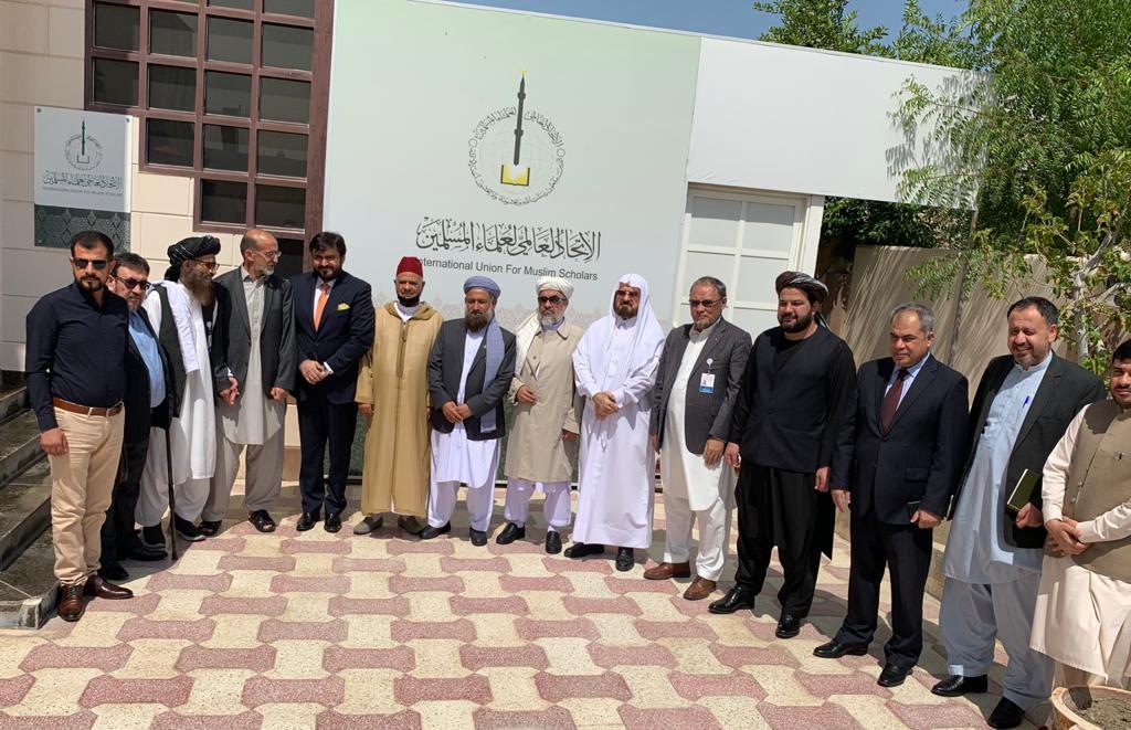 الاتحاد يستقبل وفد الحكومة الأفغانية المفاوض في الدوحة