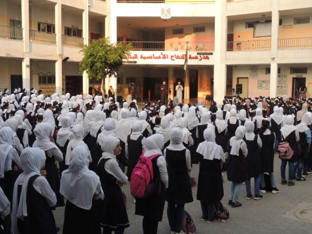 الاتحاد يقيم ملتقيات ثقافية لطالبات المدارس شرق مدينة غزة