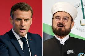 Al-Qaradaghi slammed remarks by French President Emmanuel Macron on Islam.