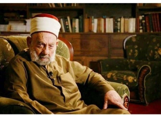 اتحادیه درگذشت شیخ دکتور حسیب بن سید سامرائی را تسلیت گفت